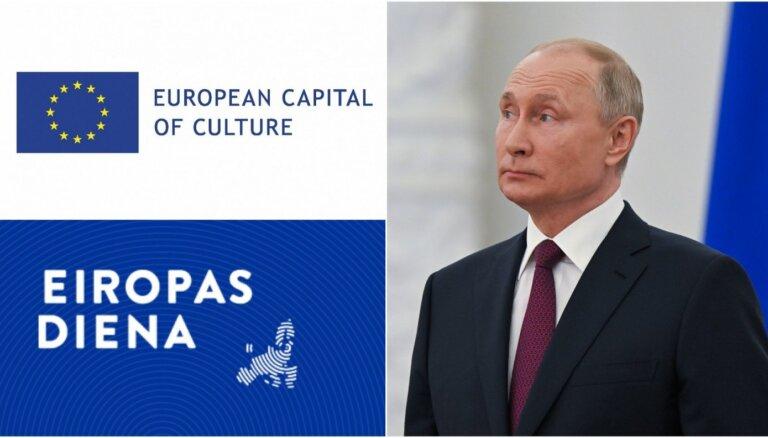 'Eiropas diena': Cīņa par Kultūras galvaspilsētas godu un ES-Krievijas attiecību stratēģija