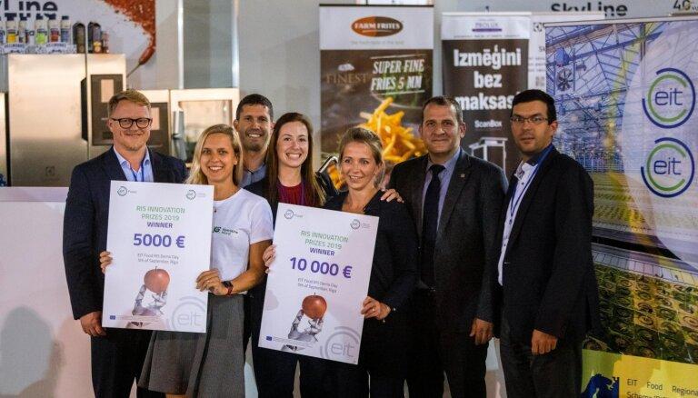 Inovatīvākajiem pārtikas nozares jaunuzņēmumiem piešķir 15 000 eiro tālākai attīstībai