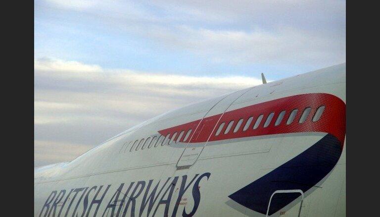 'British Airways' pirmā peļņa divu gadu laikā