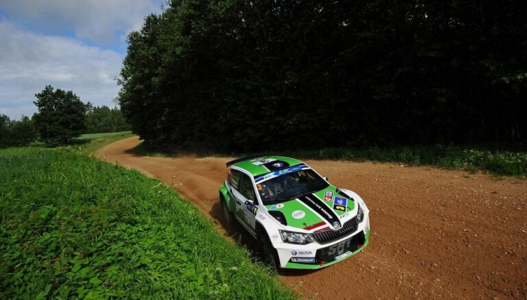 Ralfs Sirmacis 'Barum Rally' izvēlējies piekto starta pozīciju
