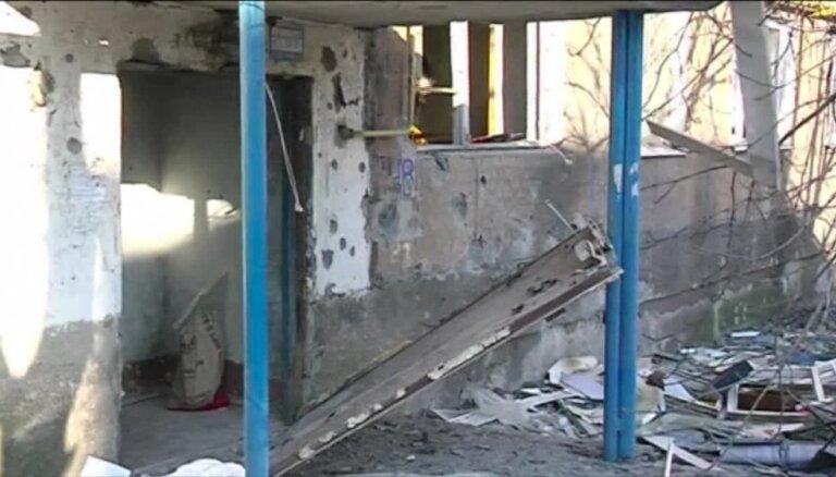Video: Pēc miera sarunām Ukrainas austrumos turpinās apšaudes