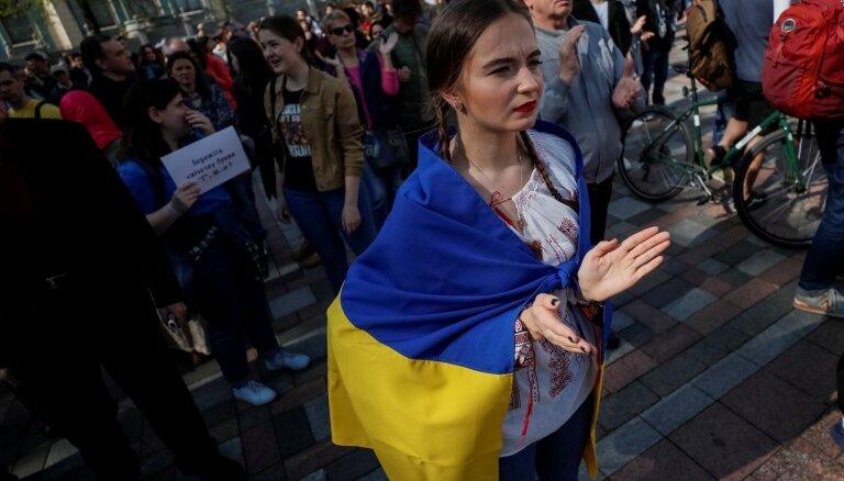 ANO Drošības padome noraida Krievijas pieprasījumu apspriest Ukrainas valodas likumu