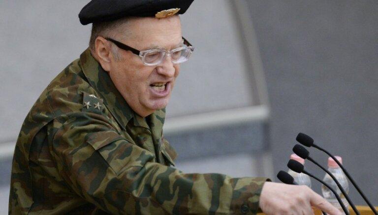 Жириновский рассказал, что ввел бы войска в Латвию, не дав ей вступить в НАТО