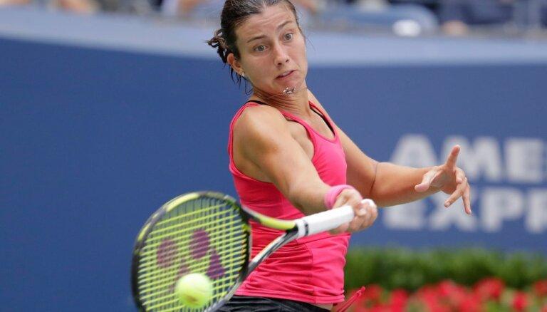 Севастова впервые в карьере выходит в четвертьфинал Grand Slam