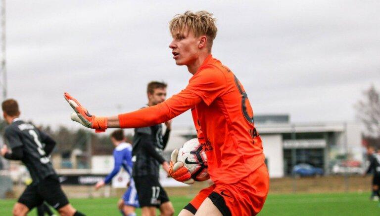 'Valmiera Glass/ViA' futbolisti sensacionāli uzvar čempionus 'Riga FC'