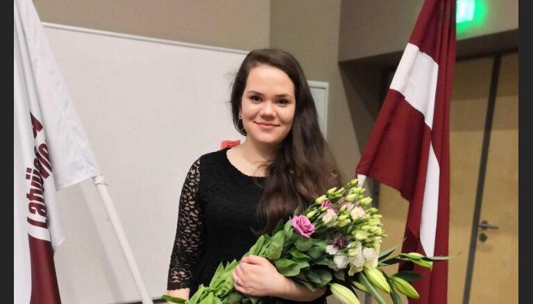 Par Latvijas Studentu apvienības prezidenti ievēlēta Justīne Širina