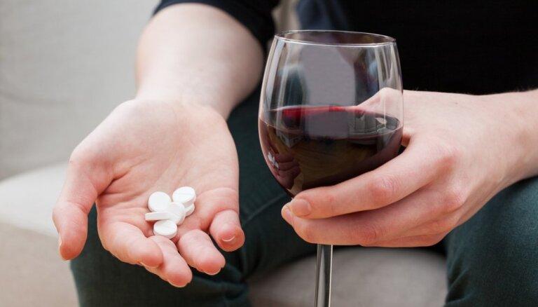 Alkohols un medikamenti - kādas sekas var būt šai kombinācijai?