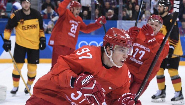 Сборная России дозаявила героя Олимпиады-2018 Гусева, а Кросби в Данию не приедет