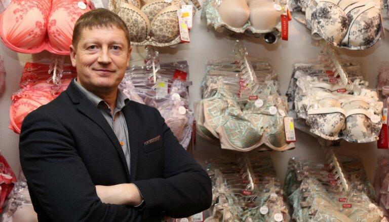 Apakšveļas ražotājs 'New Rosme' dīkstāves pabalstiem pieteicis veikalu darbiniekus