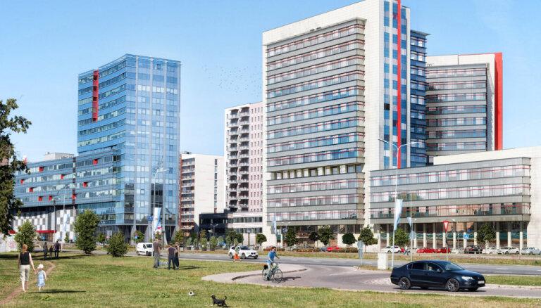Par 131 miljonu eiro pārdots biroju kvartāls 'Jaunā Teika'