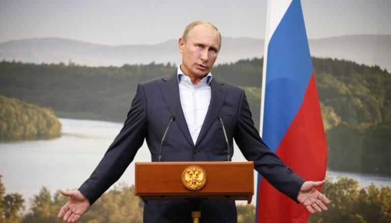 Путин: претензии США из-за Сноудена — бред и чушь