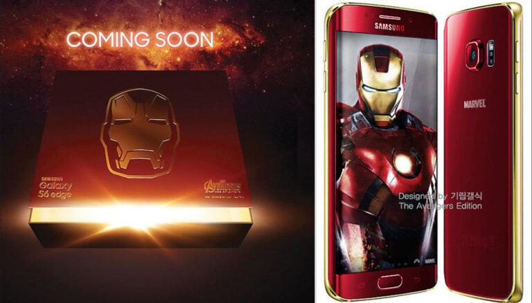 Samsung выпустит Iron Man Galaxy S6 Edge (и с другими супергероями Marvel)