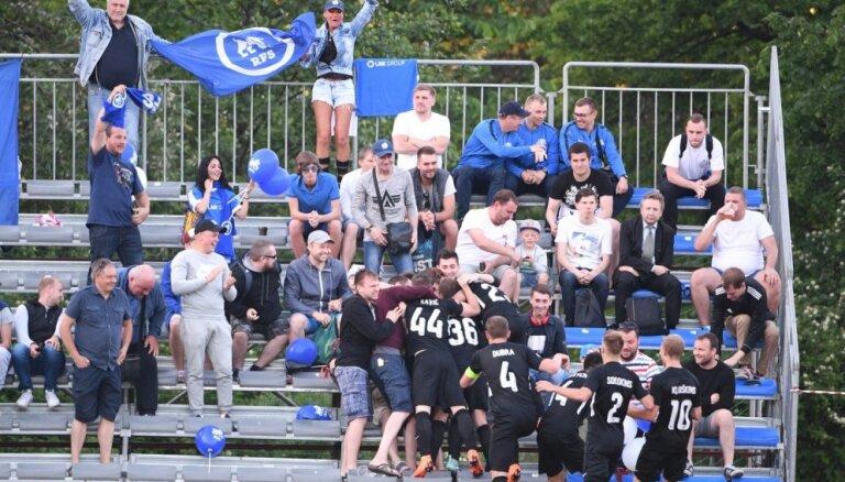 RFS futbolisti ceturto reizi šosezon uzvar 'Jelgavu'