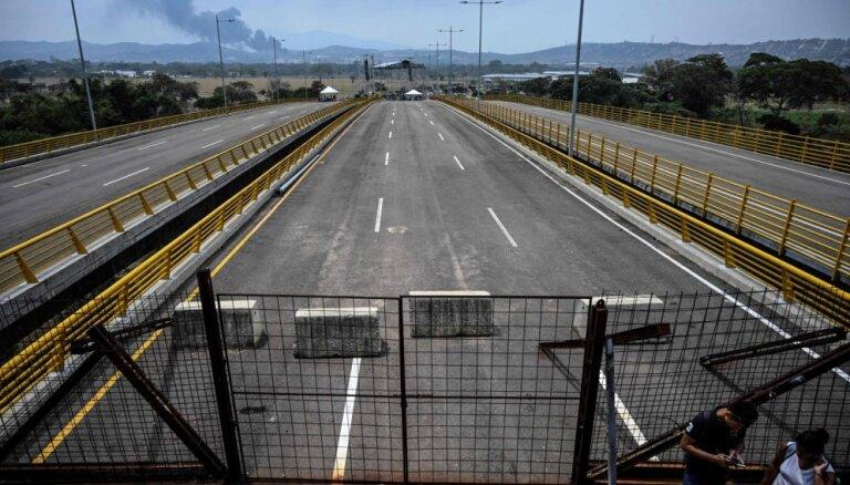 Gvaido dosies uz Kolumbijas robežu pretī humānajai palīdzībai