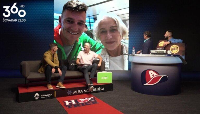 Video: Mārtiņš Pļaviņš stāsta par satikšanos ar slaveno aktrisi Helēnu Mirenu