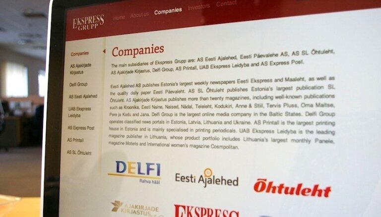 Ekspress Grupp инвестирует в крупнейшую в странах Балтии сеть интернет-рекламы Adnet media