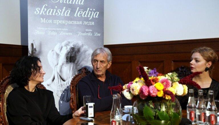 Rīgas Krievu teātris 135. jubileju svinēs ar mūziklu 'Mana skaistā lēdija' un jauna logo atklāšanu