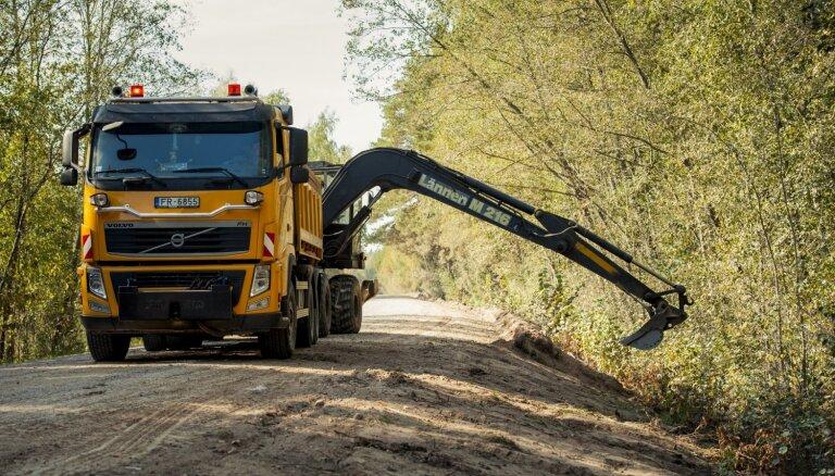 Šogad autoceļu ikdienas uzturēšanas darbiem izlietoti gandrīz 44 miljoni eiro