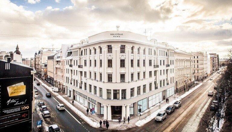 ФОТО: в новый жилой комплекс в известном здании библиотеки вложено 4 млн евро