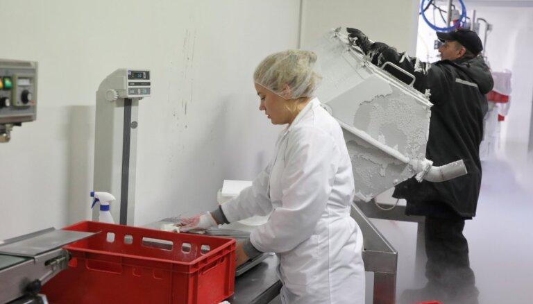Rūjienā izveidota vienīgā saldējuma bumbiņu ražotne Eiropā