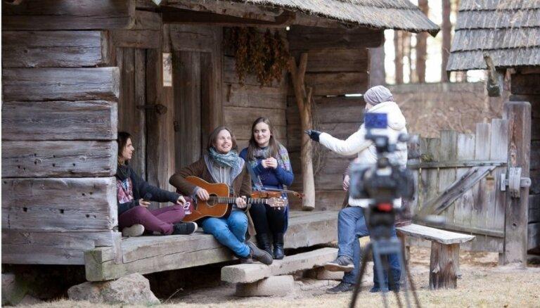 Tapis Latvijas eirodziesmas 'Cake to Bake' klips