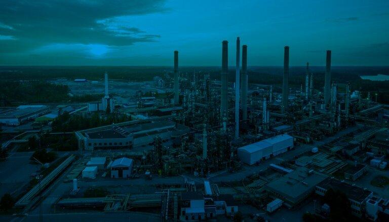 Как выглядит путь топлива Neste от завода до бензоколонки в Латвии?