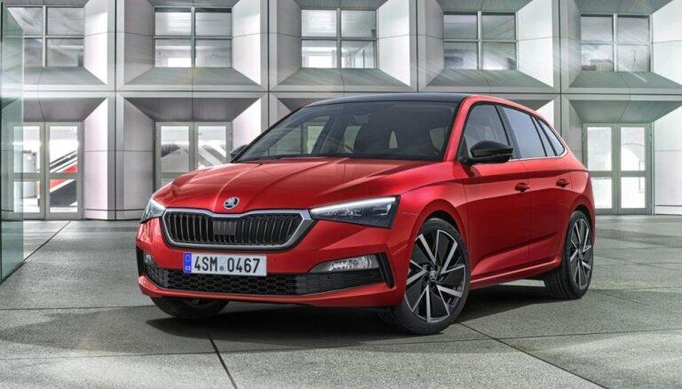 'Škoda' prezentējusi 'Audi A3 Sportback' stila hečbeku 'Scala'