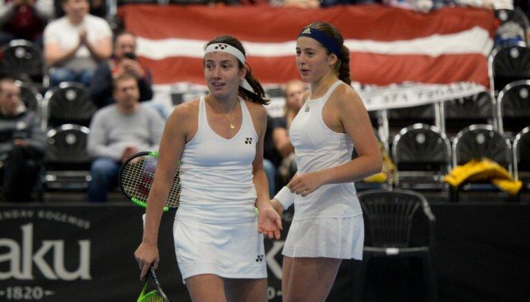 Abas Latvijas vadošās tenisistes Sevastova un Ostapenko saglabājušas savas vietas jaunākajā pasaules rangā