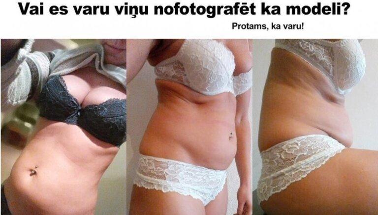 Sokolovs pierāda: sieviete ar lieko svaru var izskatīties kā modele