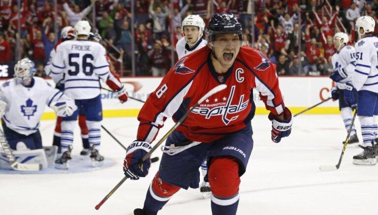 Овечкин набрал 1100-е очко в НХЛ, а Малкин — 900-е