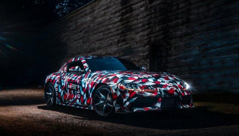 'Toyota' oficiāli apstiprinājusi jaunā 'Supra' modeļa debiju Detroitā