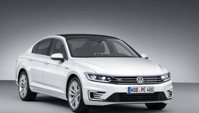 Новый Volkswagen Passat стал гибридом