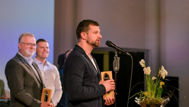 Foto: Martins Dukurs un Lelde Gasūna - gada sportisti Siguldas novadā