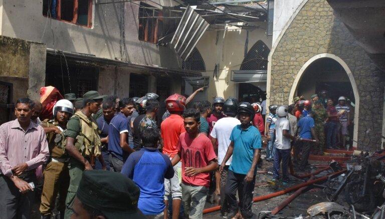Šrilankas teroraktu upuru skaits pieaudzis līdz 359