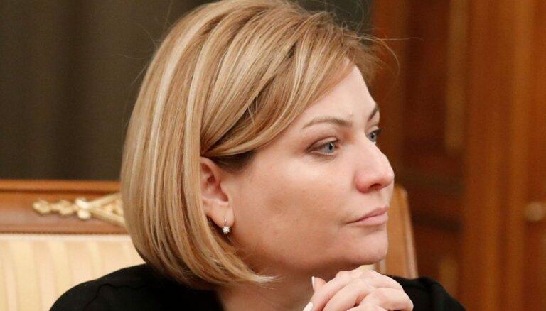 Krievijas jaunā kultūras ministre 'neieredz operu, baletu, klasisko mūziku'
