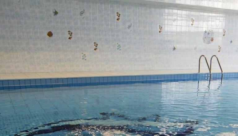 По техническим причинам закрыт бассейн в Саласпилсе