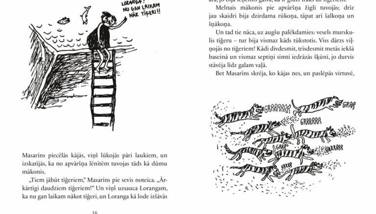 Latviski izdota Barbru Lindgrēnes grāmata 'Loranga'