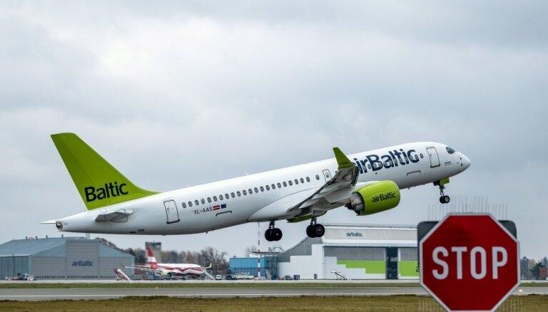 'airBaltic' atlaidīs teju 250 darbiniekus