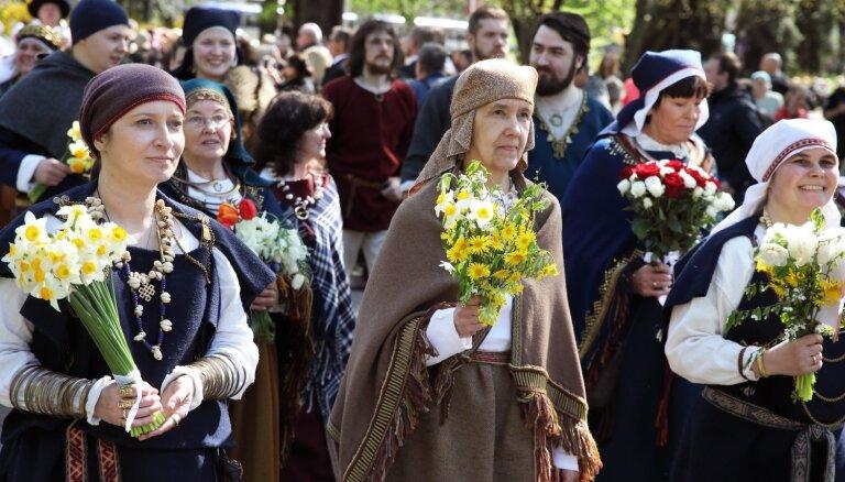 Vecrīgā notiks ikgadējais 4. maija tautas tērpu gājiens