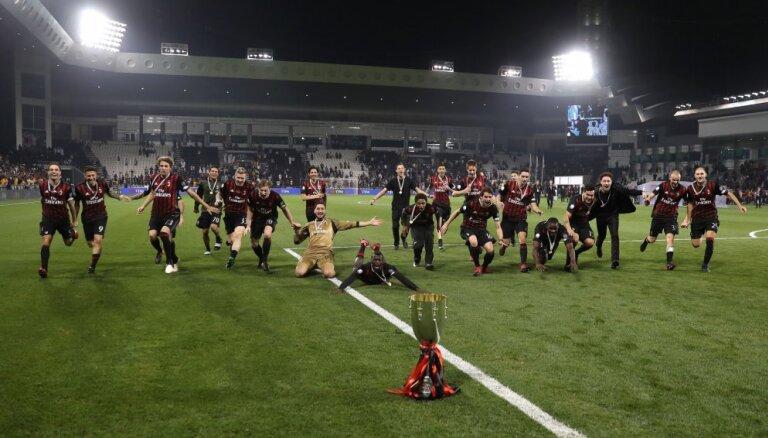 """""""Милан"""" выиграл первый трофей за последние пять лет"""