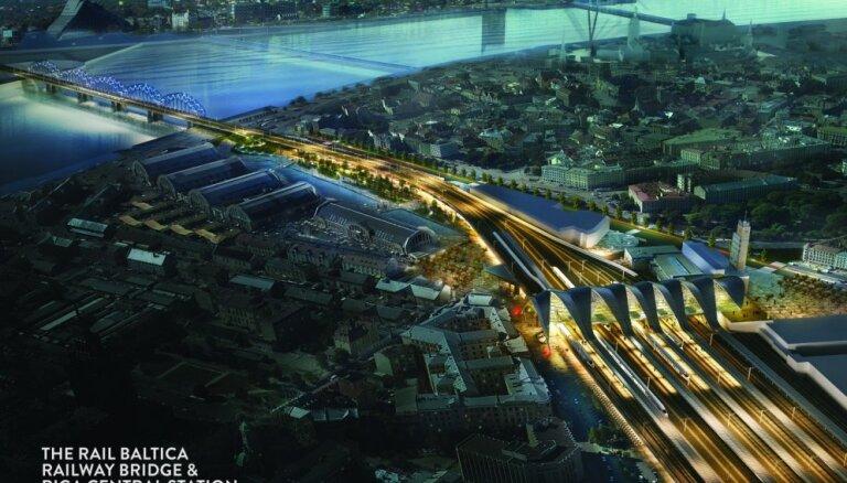 Названы сроки начала строительства железнодорожной магистрали Rail Balticа