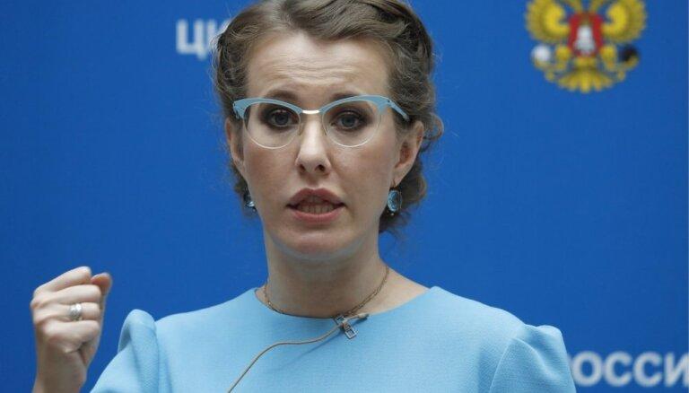 Собчак опровергла планы поехать в Крым