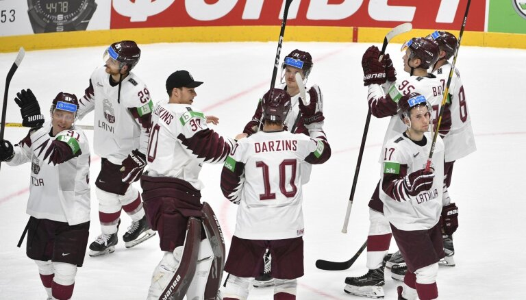 Матч сборных Латвии и Италии в Братиславе вошел в историю чемпионатов мира