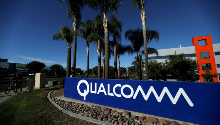 ES noteikusi 242 miljonu eiro soda naudu ASV mikroshēmu ražotājam 'Qualcomm'