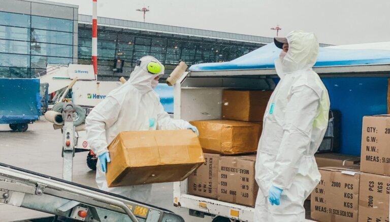 VUGD: masku un respiratoru sadalījums, un prioritātes ar veselības aprūpi nesaistītām nozarēm ir noslēpums