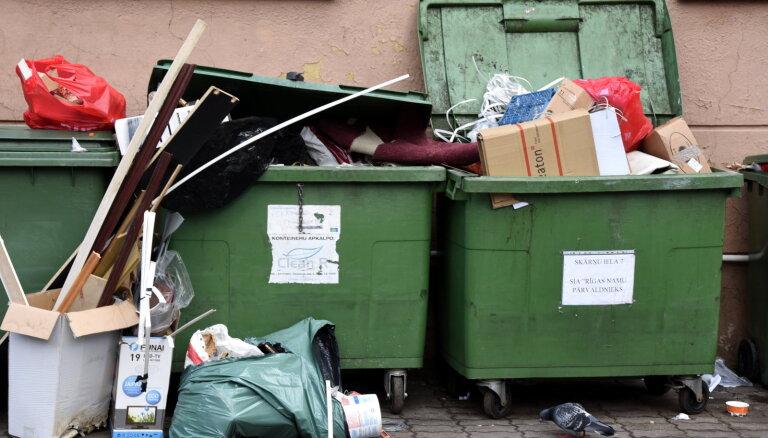Ригу разделят на четыре зоны вывоза мусора, конкурс будет объявлен на семь лет