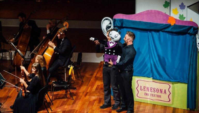 Ar koncertu Lielajā ģildē noslēgsies LNSO bērniem veltītā koncertcikla 'LeNeSOns' sezona