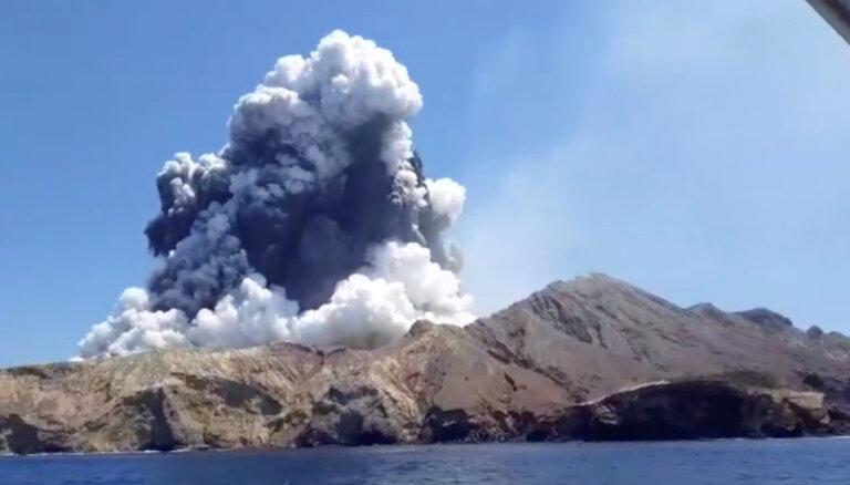 Извержение вулкана в Новой Зеландии: на острове не осталось живых