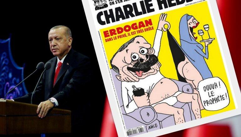 Eiropas Cilvēktiesību tiesa aicina Turciju grozīt likumu par prezidenta apvainošanu