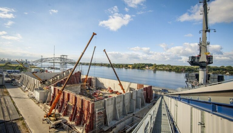 Sāk 'Riga Bulk Terminal' infrastruktūras attīstības otrās kārtas būvdarbus